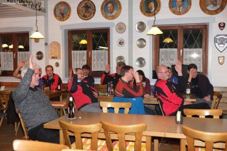 Jahreshauptversammlung Schützen 2014 025